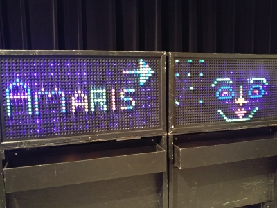 Can't get enough Amaris on Giant LiteBrite