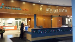 Welcome Centre at Kitchener City Hall