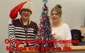 4th Day of E-cember my true love gave to me